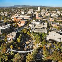 Downtown Greenville SC Aerial